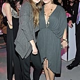 Marcia Gay Harden and Shailene Woodley caught up.