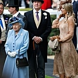 Queen Elizabeth II, King Willem-Alexander and Queen Maxima of the Netherlands