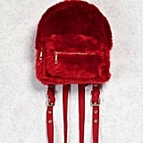 Forever 21 Faux Fur Mini Backpack