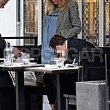 Sienna Miller and Tom Sturridge Pictures Lunch in London