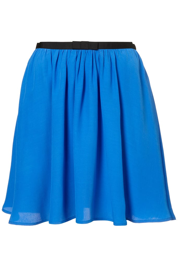 Flirty and flowy, this bow-infused skirt is girlie perfection. Topshop Bow Skirt ($55)
