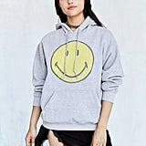 Smiley Face Hoodie Sweatshirt ($59)