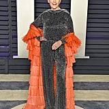 Maye Musk at the 2019 Vanity Fair Oscar Party