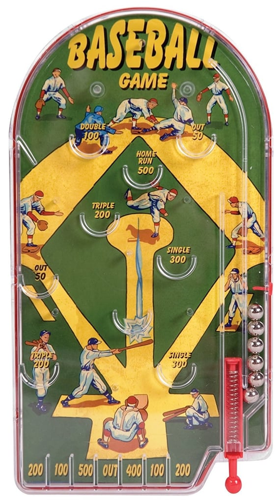 Retro Homerun Baseball Pinball