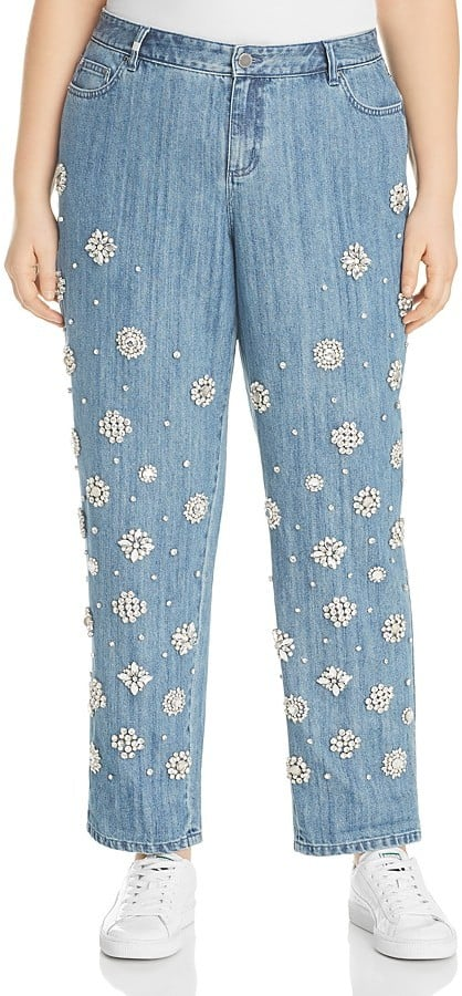 Michael Kors Embellished Jeans