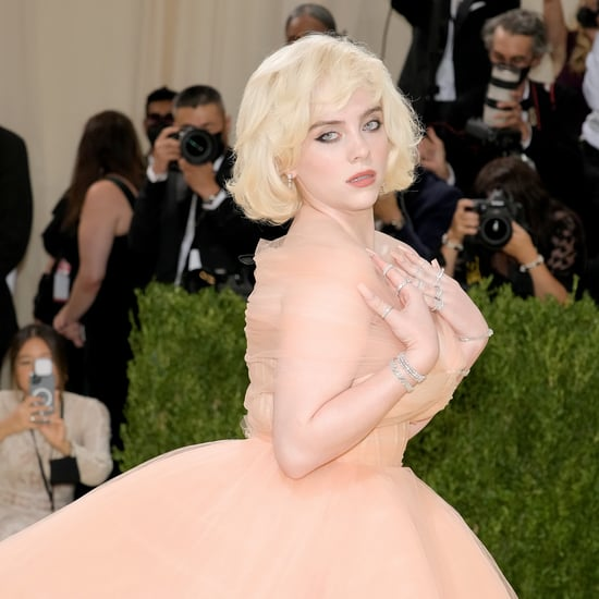 Billie Eilish's Barbie-Inspired Blond Bob at Met Gala 2021