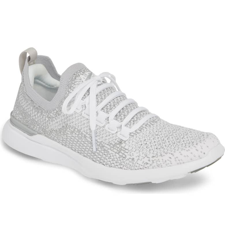 APL TechLoom Breeze Metallic Knit Running Shoe