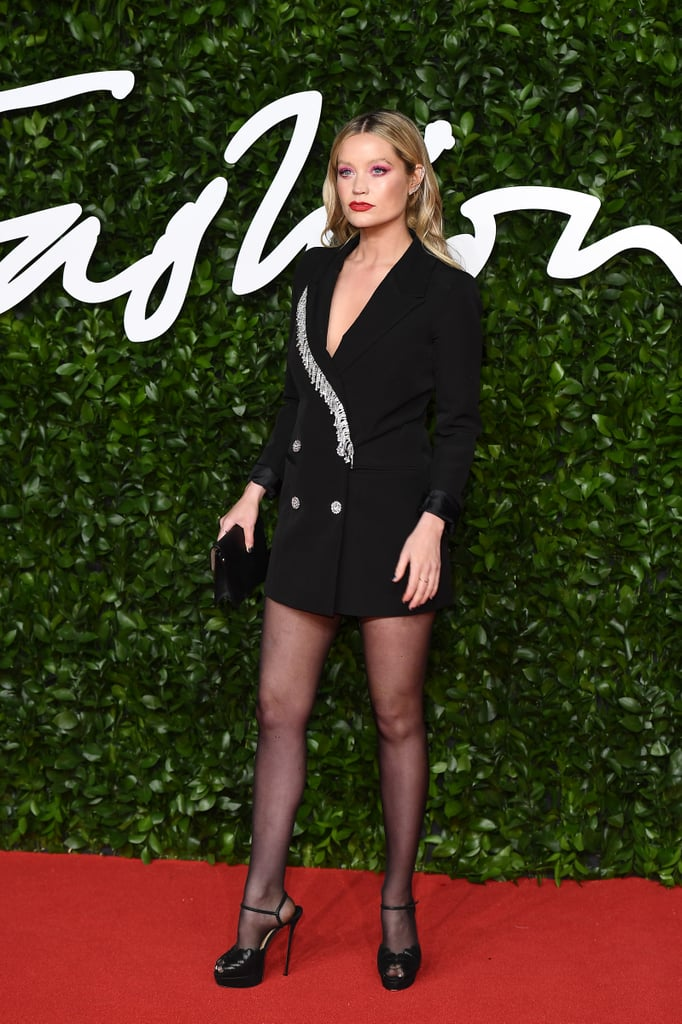 Laura Whitmore at the British Fashion Awards 2019