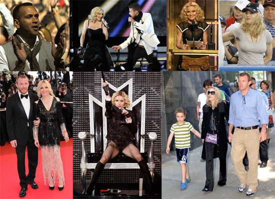 Biggest Headlines of 2008: Madonna's Sticky and Sweet Year