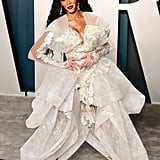 Winnie Harlow at the Vanity Fair Oscars Party