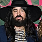 Alessandro Michele at The Green Carpet Fashion Awards 2019