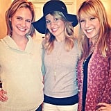 """Jodie: """"Throwback with my girls!"""""""