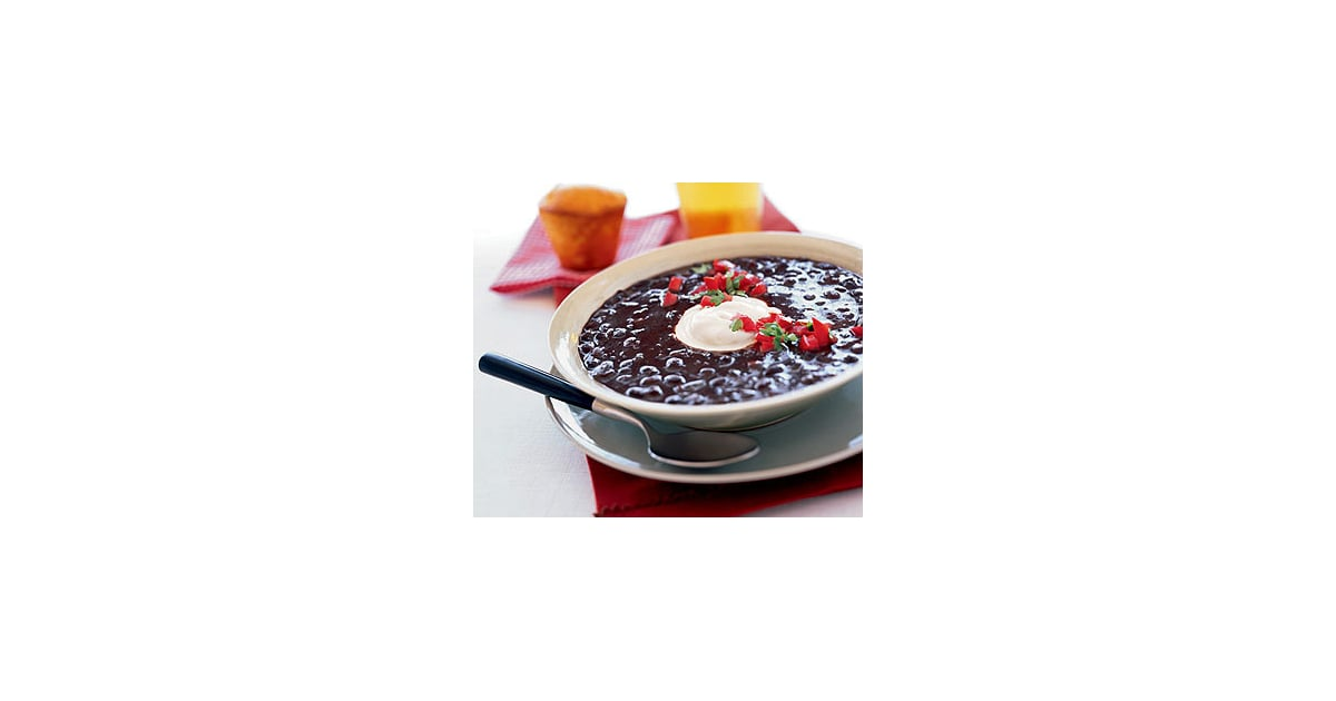 Recipe For Vegetarian Black Bean Soup With Chipotle ...