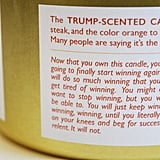 The Candle Comes With a Much-Needed Warning
