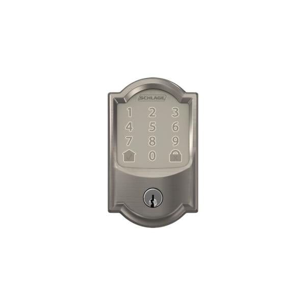 Schlage Camelot Encode Smart Wifi Door Lock With Alarm