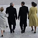 Together at the inauguration