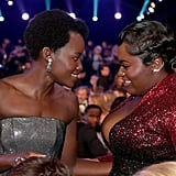 Pictured: Lupita Nyong'o and Danielle Brooks