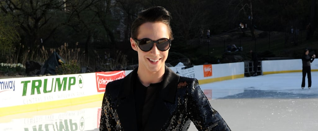 "Lady Gaga Called Johnny Weir to Borrow His Outfit After Seeing His ""Poker Face"" Performance"