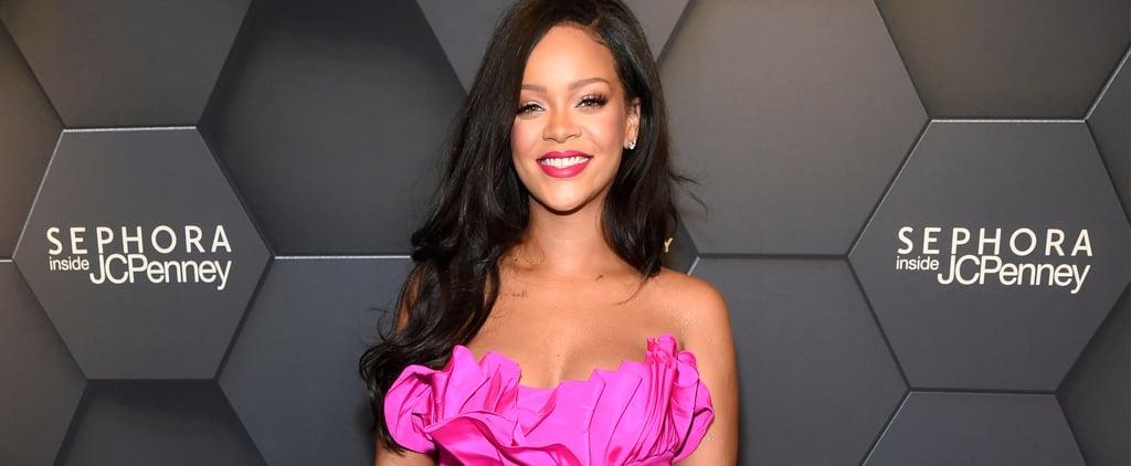 Rihanna's Pink Dress at Fenty Beauty Anniversary