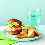 Turkey Sliders and Baked Potato Wedges