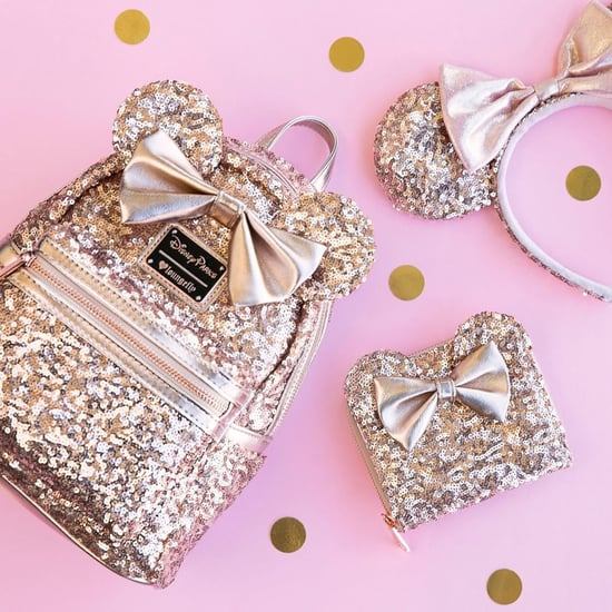 Disney Rose Gold Ears Backpack and Purse