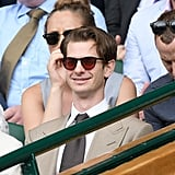 Andrew Garfield at Day 13 of Wimbledon