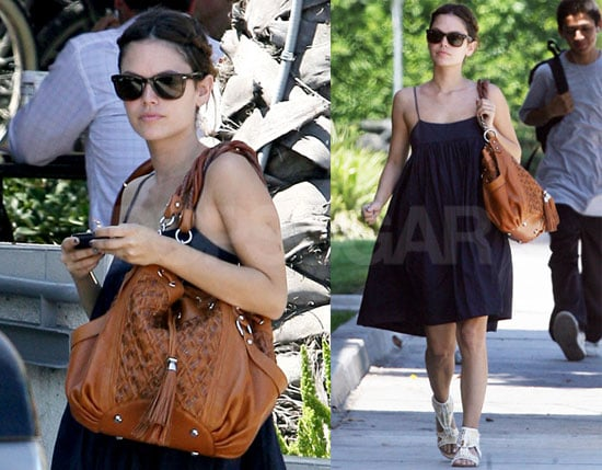 Photos of Rachel Bilson at Alcove Cafe and Bakery in Los Angeles