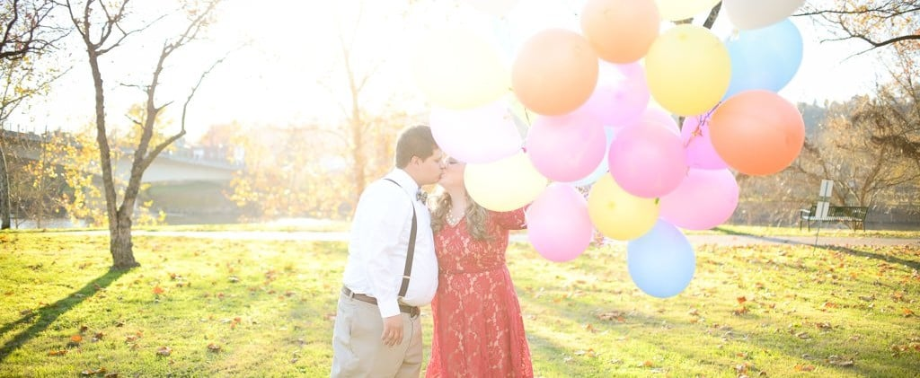 This Pixar's Up!-Themed Engagement Session Is Too Freakin' Cute