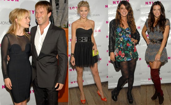 Photos of Anna Paquin, Stephen Moyer, Annalynne McCord, Shenae Grimes and Quotes From True Blood Couple in Nylon Magazine TV