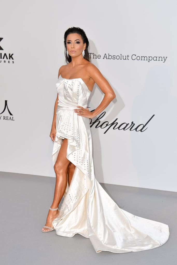 Eva Longoria at the amfAR Cannes Gala