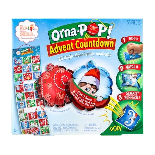 The Elf on the Shelf Orna-POP! Advent Countdown