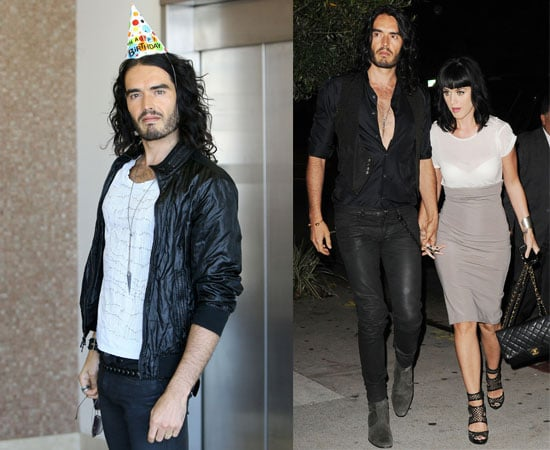 Pictures of Russell Brand Celebrating His Birthday