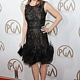 Jennifer Garner looked ladylike as she arrived at the Producers Guild Awards to support Ben Affleck.