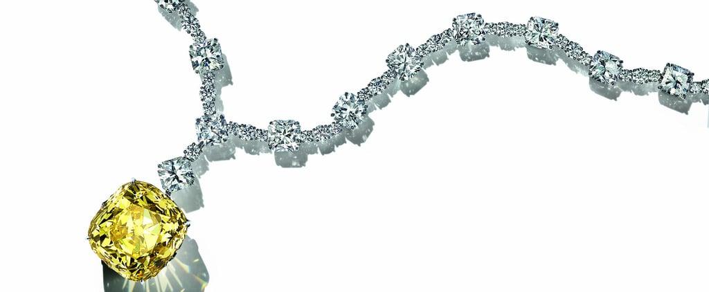 Who Has Worn Tiffany's Famous 128.54 Carat Yellow Diamond?