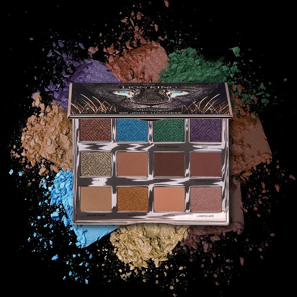 The Lion King Can't Wait to Be Queen Eye Shadow Palette by Luminess