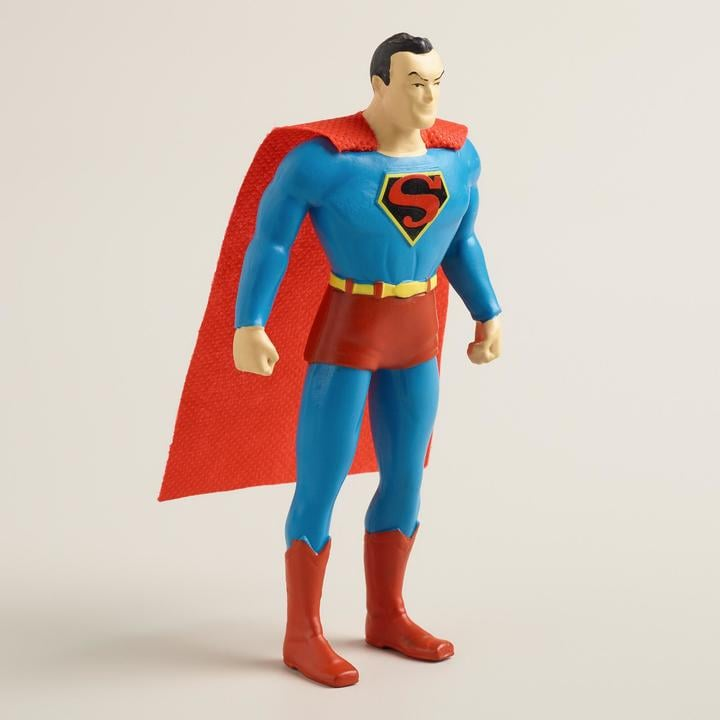 Cost Plus World Market Poseable Superman