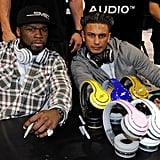 50 Cent and Pauly D
