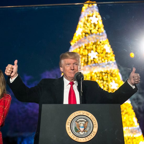 Crowd Size at Trump White House Christmas Tree Lighting 2017