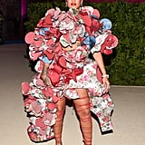 Rihanna wore a Comme des Garcons creation to the 2017 Met Gala.