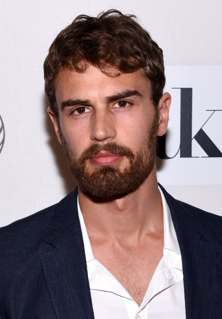 Theo James Hot British Actors With Beards In 2015 border=