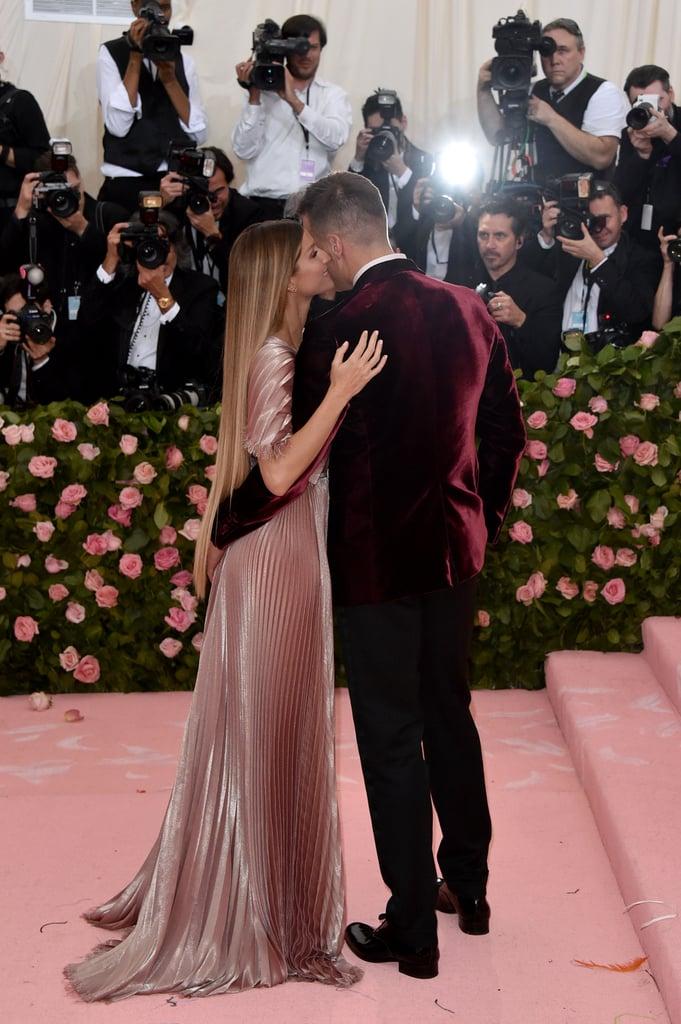 Tom Brady and Gisele Bündchen at the 2019 Met Gala