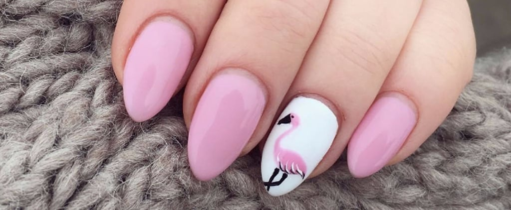 Flamingo Nail Art Ideas