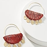 Zinnia Crescent Hoop Earrings