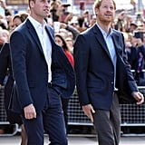 They arrived in style to celebrate World Mental Health Day at the London Eye in October 2016.