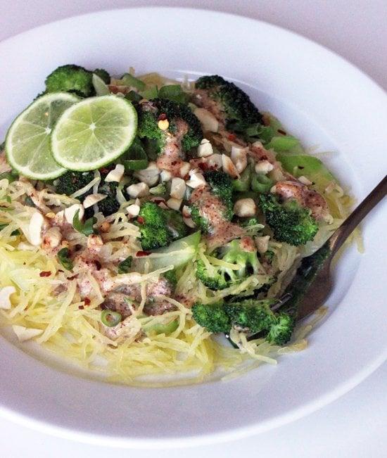 Entrée: Spaghetti Squash Pad Thai