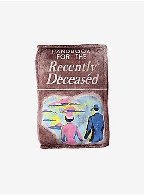 Handbook For the Recently Deceased Pillow