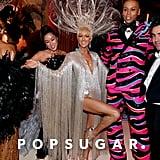 Laura Kim, Celine Dion, RuPaul, and Fernando Garcia