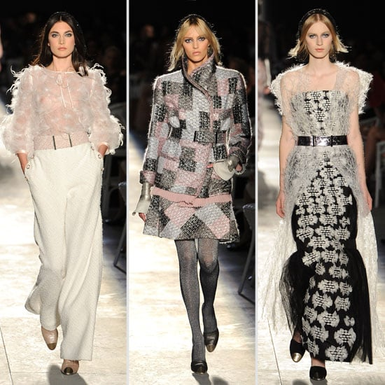 Pictures and Review of the 2012 Fall Couture Chanel Show