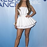 Only J Lo Could Wear a Minidress That Resembles a Cupcake Liner and Look This Hot