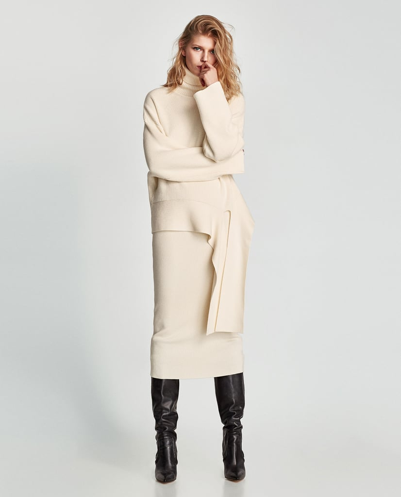 Zara Sweater and Ribbed Skirt Set | Best Fashion Gifts 2017 ...